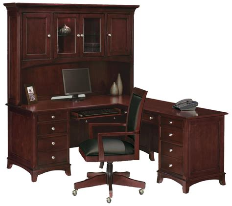 desk and hutch transform your home office with built in cabinets