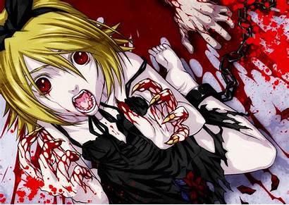 Vocaloid Creepy Anime Rin Kagamine Horror Horreur