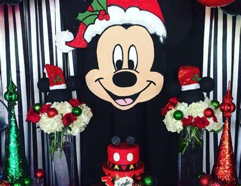 mickey mouse christmas birthday boy birthday