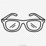 Sunglasses Coloring Drawing Glasses Favpng Displaying Teachers Printable sketch template