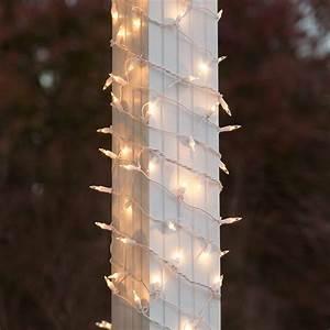 Christmas, Net, Lights, -, 6, U0026quot, X, 15, U0026, 39, Column, Wrap, Lights, -, 150, Clear, Lamps