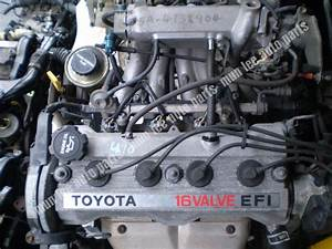 Jdm Used Engine With Gearbox For Car Toyota 4a