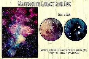 Nebula and Ink Collection by Salted Galaxy