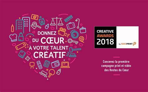 siege resto du coeur creative awards by saxoprint créez la prochaine cagne