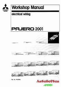 Electrical Wiring Mitsubishi Pajero 3 2001