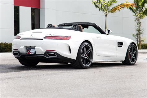 The amg gt c's standard amg dynamic plus package flexes its muscle freely. Used 2018 Mercedes-Benz AMG GT C For Sale ($137,900) | Marino Performance Motors Stock #016496