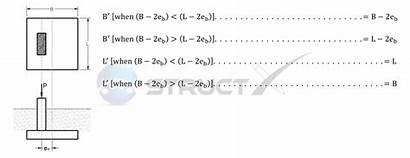 Eccentricity Effective Way Rectangle Foundation Method Dimensions