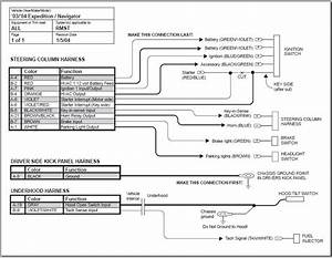 Ford Car Alarm Wiring Diagram