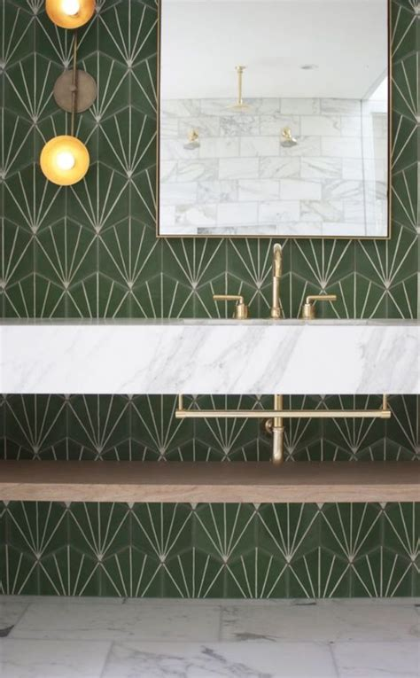interior trend tile statement wall patterns prosecco