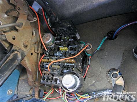 chevrolet   wiring upgrade hot rod network