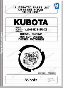 Kubota Engine V2203