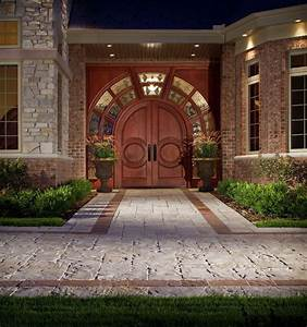 Creating, Interesting, Driveways, With, Paver, Patterns