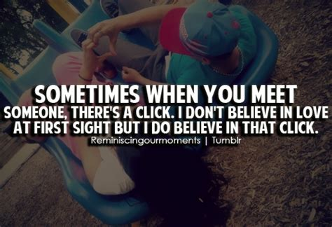 want to click pics at sometimes when you meet someone there s a click i don t believe in unknown picture