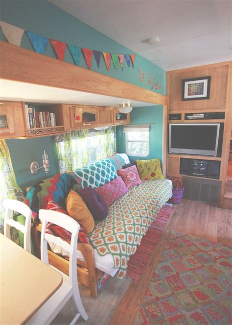 Decorating Ideas For Trailer Living Room by 10 Rv Decorating Ideas You Need To See