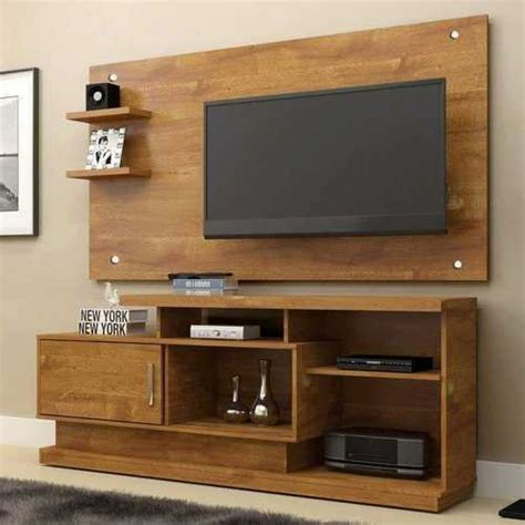 wooden brown wall stand lcd cabinet dimensions
