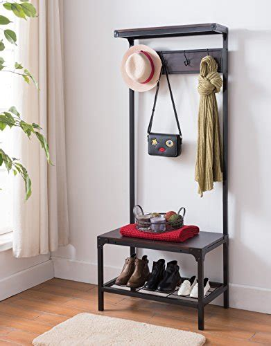 Entryway Bench With Shoe Storage And Coat Rack by Entryway Bench And Coat Rack