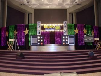 image result  game show theme decorations stage