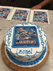 Royale Clash Birthday Cake