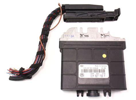 tcm transmission computer plug  vw jetta gti passat vr