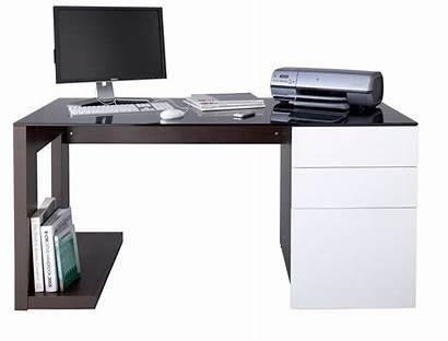 Computer Desk Walnut Office Contemporary Sorbonne Alphason
