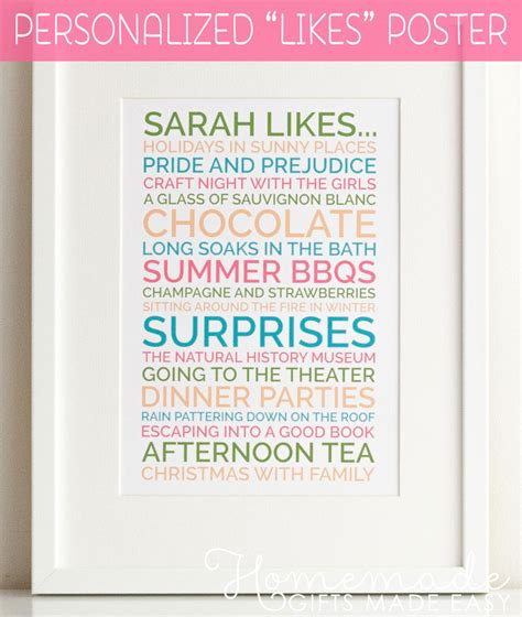 make for your best birthday gifts ideas To