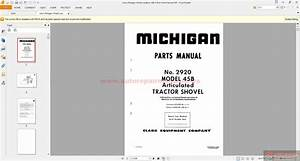 Volvo Michigan Wheel Loadersc 45b  2920 Parts Manual