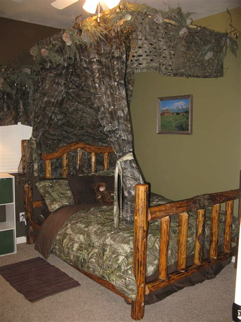 How To Decorate A Kids Room In A Hunting Realtree Camo