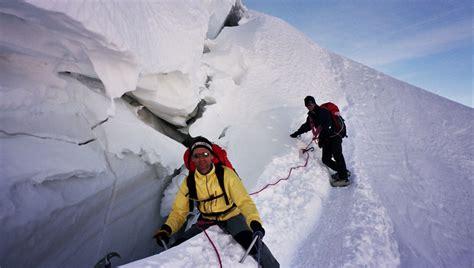 ascension du mont blanc photo de haute montagne alta via