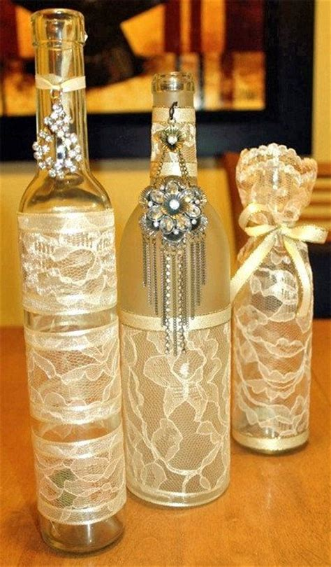 Decorative Wine Bottles For Wedding by 1000 Ideas About Hurricane Centerpiece On