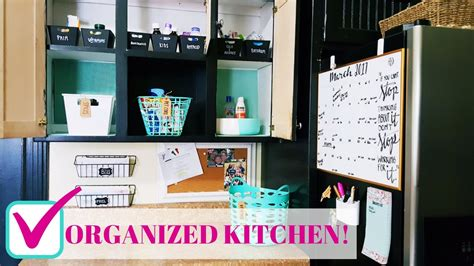 kitchen organization ideas on a budget diy kitchen organization on a budget family command 9497