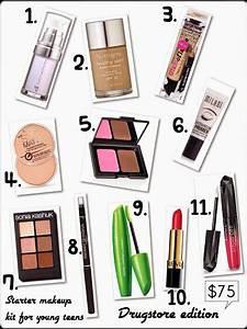 Beginner Makeup Starter Kit Tip  Drugstore Faves!