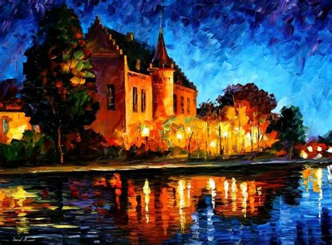 most mural artists leonid afremov one of the most colorful painters