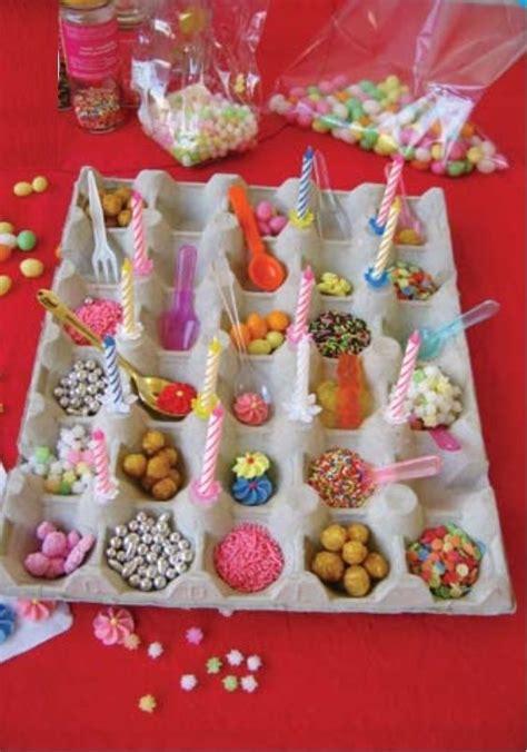 grand plateau  oeufs des decorations des bonbons