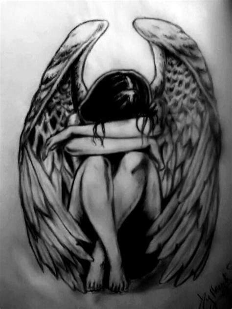 30+ Fallen Angel Tattoo Ideas