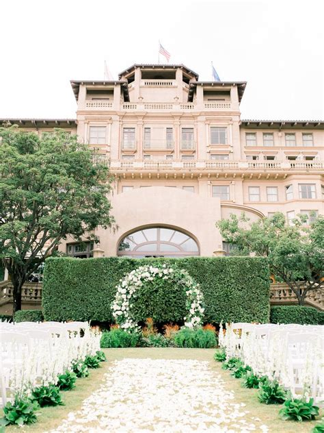 galleries langham huntington pasadena wedding venue