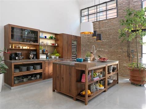 modele cuisine bois moderne modèle de cuisine moderne une panoplie d 39 idées inspirantes