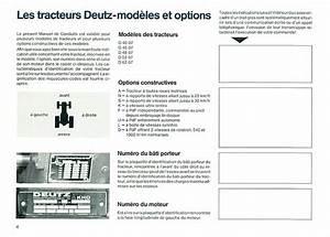 Controle Technique Ploemeur : manuel instruction deutz 4007 4507 4807 5207 6207 ~ Nature-et-papiers.com Idées de Décoration