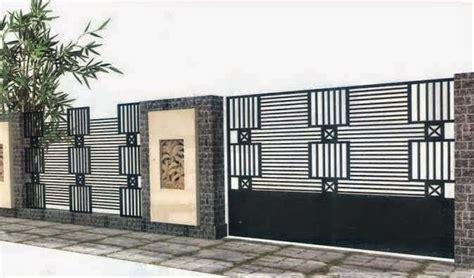 desain  bentuk pagar minimalis