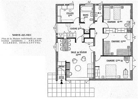 plan de maison 3 chambres plan de maison 3 chambres