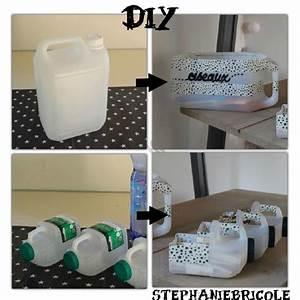 Diy Rangement Chambre : comment faire des rangements avec des bidons en plastique id e r cup pour ranger un atelier ~ Preciouscoupons.com Idées de Décoration