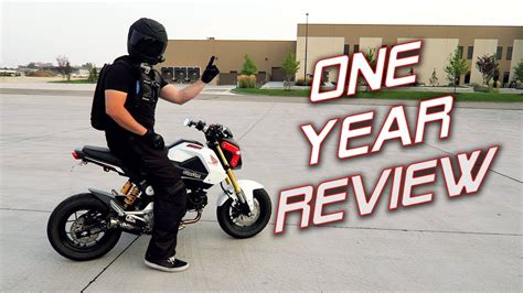 One Year With A Honda Grom