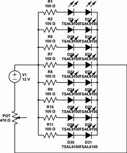 potentiometer led matrix dimming how to control the With led array circuit