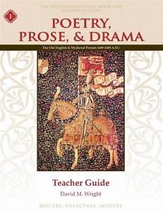 Poetry  Prose   U0026 Drama Book One Teacher Guide  Second