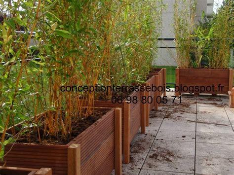comment amenager une terrasse en bois conception d une terrasse en bois am 233 nagement de balcon et terrasse