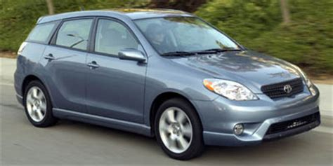 toyota matrix page  review  car connection