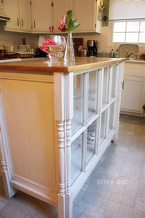 repurposed kitchen island ideas 20 ways to repurpose windows upcycled window projects 4771