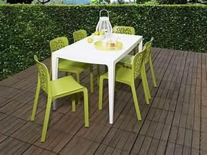 Ensemble Table Et Chaise De Jardin En Plastique Advice