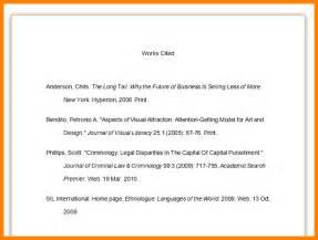 8 mla 8 citation page exle science resume