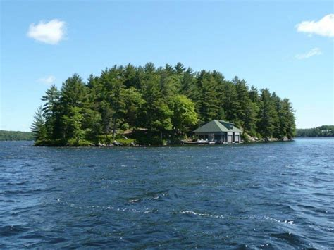 cottage   week  million   private island  lake rosseau