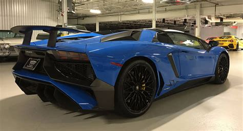 2018 lamborghini aventador sv roadster for sale glistening lamborghini aventador sv roadster pops up on craigslist carscoops